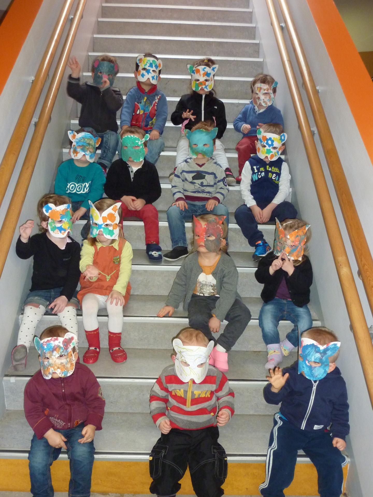Activités artistiques et spectacle avec les enfants